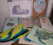 Lot Of 8 Papyrus Mixed Cards Blank Birthday Judith Leiber Gems Shoe Balloons