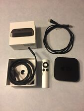 Apple TV 3rd Generation (2013) + Remote & HDMI cable Used     GREAT.       #290