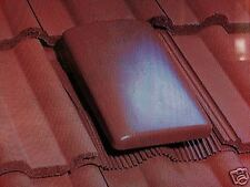 roof vent klober universal concrete tile red