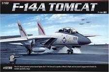 Academy 1/100 USN F-14A TOMCAT 12705 NIB Military Plastic Model Kits New