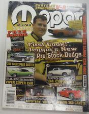 Mopar Magazine Jeggie's New Pro-Stock Dodge March 2005 061915R