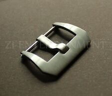 22MM  Pre-V Screw Buckle For Panerai Watch Leather Rubber Strap  44MM Brushed