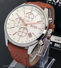 Hugo Boss Men's Grand Prix Chronograph Watch 1513475 Brand New / Warranty