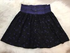 Staring At Stars Purple Aztec Mini Skirt Urban Outfitters Boho Festival Flirty S