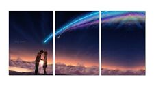 Kimi No Na Wa (Your Name) Poster - set of 3 (13x19') - High Quality Prints