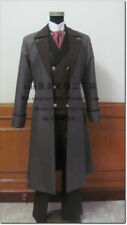 Black Butler Kuroshitsuji Sebastian Michaelis Uniform Suit Cosplay Costume A018
