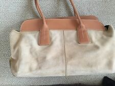 Ladies Tod's Limited edition D bag in suede and leather
