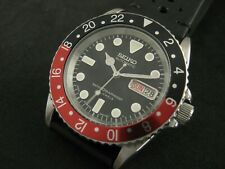 SEIKO SKX031 7S26-0040 Modified ' COKE GMT ' Water Proof Tested Nice Collections