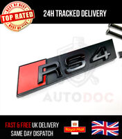 Audi RS4 Gloss Black Grille Badge