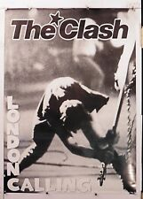 THE CLASH 12x18 BAND POSTER LONDON CALLING ALBUM COVER TOUR CONCERT BASS SMASH 1