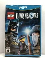 LEGO Dimensions Nintendo Wii U - Game Only - NEW Factory Sealed - Free Ship