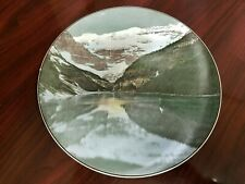 Vintage Royal Doulton Lake Louise & Victoria Glacier - Banff Np D6474 Plate