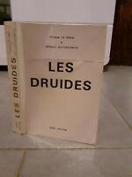 Françoise Le Roux - Les Druides - 1978 - Edition Ogam
