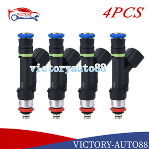 4X Fuel Injectors 0280158140 For Ford Expedition Lincoln Navigator 5.4 2007-2008