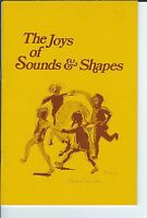 MF-007 - Joys of Sounds and Shapes, Paul Sheftel, book about Shaped Music 1974
