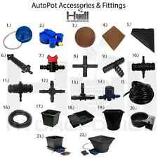 More details for autopot irrigation watering system parts/spare accessories connectors hydroponic