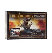 Warhammer Fantasy 40k Chaos Daemons Burning Chariot Herald of Tzeentch GAW 97-20