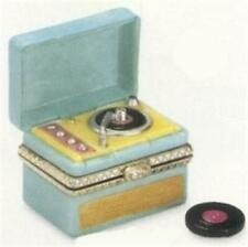 PORCELAIN HINGED BOX Elvis Presley Record Player