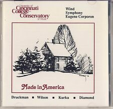 Druckman, Wilson, Kurka, Diamond - Corporon: Made in America Like New