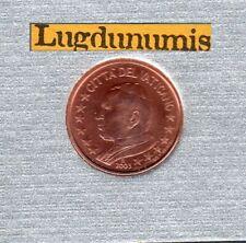 Vatican 2003 1 Centime D'Euro BU FDC Jean Paul II 65000 exemplaires Provenant du