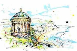 Kathryn Callaghan/Fine Art Print/Mussenden Temple/North Coast/N Ireland/Irish