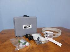DWYER ECII Slack Tube Manometer w/ Accessories & Case