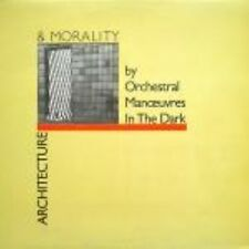 OMD Architecture And Morality  Uk Lp Die Cut Sleeve Original