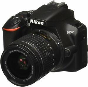 "Nikon D3500 18-55mm 24.2mp 3"" Brand New Agsbeagle"