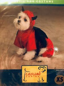 Pet Dog Zack & Zoey Devil Costume New Size Extra Small
