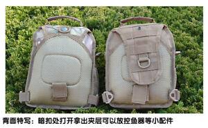 900D Nylon Backpack Molle Tactical Sling Chest Pack Shoulder Bag Outdoor Hiking