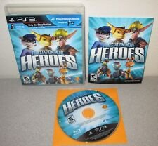 PLAYSTATION MOVE HEROES PlayStation 3 Ratchet Clank Jak Daxter Sly Cooper No UPC