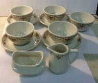 Vintage STERLING CHINA Restaurant Ware Wellville OH USA - lot of 11 pieces
