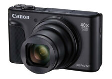 CANON POWERSHOT SX740 HS Schwarz  4K 40-fach Zoom Digitalkamera SX740HS