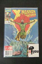 7.5 Vf- Very Fine- X-Men Adventures # 4 Cover Swipe Dutch Euro Variant Owp N.N