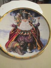 Bearing Wondrous Gifts By Lynn Bywaters Plate The Magic Of Christmas w/papers