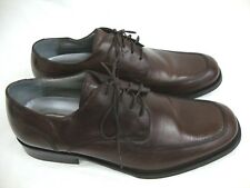 Kenneth Cole New York Brown Dress Oxfords Sz 11 Silver Technology Shoes Euro 44