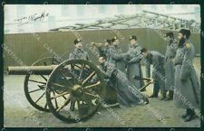 Military Russia Russian Soldier Types postcard XF3633