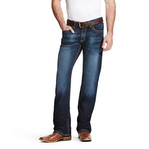 Ariat® Men's M4 Adkins Turnout Low Rise Boot Cut Jeans 10021767