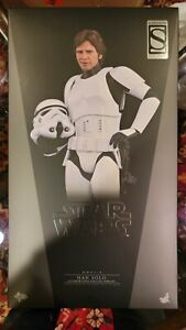 Hot Toys MMS418 - Star Wars - Han Solo Stormtrooper Disguise - NEW/MIB US SELLER