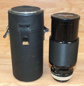 Genuine Vivitar Series 1 70-210mm 1:3.5 Camera Lens & Case Only **READ**
