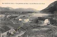 CPA 01130 NANTUA vue générale du Port Lac et Cluse Edit VIALATTE