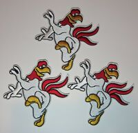 """Looney Tunes Series Foghorn J. Leghorn 4"""" Embroidered Patch Set Of Three (3)"""