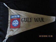 Modern Us Army 82 Nd Airborne Div Gulf War Campaign Banner Flag