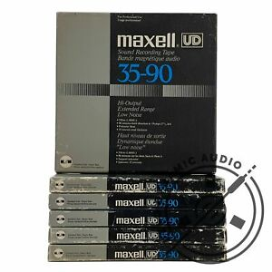 """MAXELL UD 35-90 Reel to Reel Recording Tape  Gen. 7   ¼"""" x 7""""/ 18cm"""