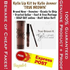 True Brown K - Kylie Lip Kit By Kylie Jenner- Matte Liquid Lipstick Duo IN STOCK
