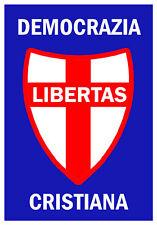 DC-DEMOCRAZIA CRISTIANA-Poster - PSI-PCI-MSI -POLITICA MANIFESTI VOLANTINI