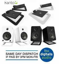 Kanto S6 Desktop Tilt Speaker stands Black, White for YU6 or Tuk Desk Top