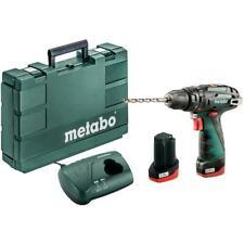 Metabo Schlagbohrschrauber PowerMaxx SB Basic 10,8V 2x 2,0Ah Li-Ion Akkus Koffer