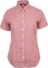 Camicia da donna rosso con colletto