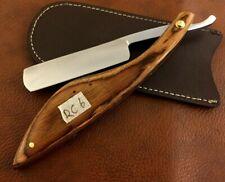 Handmade Shave Ready Straight Razor-Cut Throat Razor-With Leather Sheath-RC6